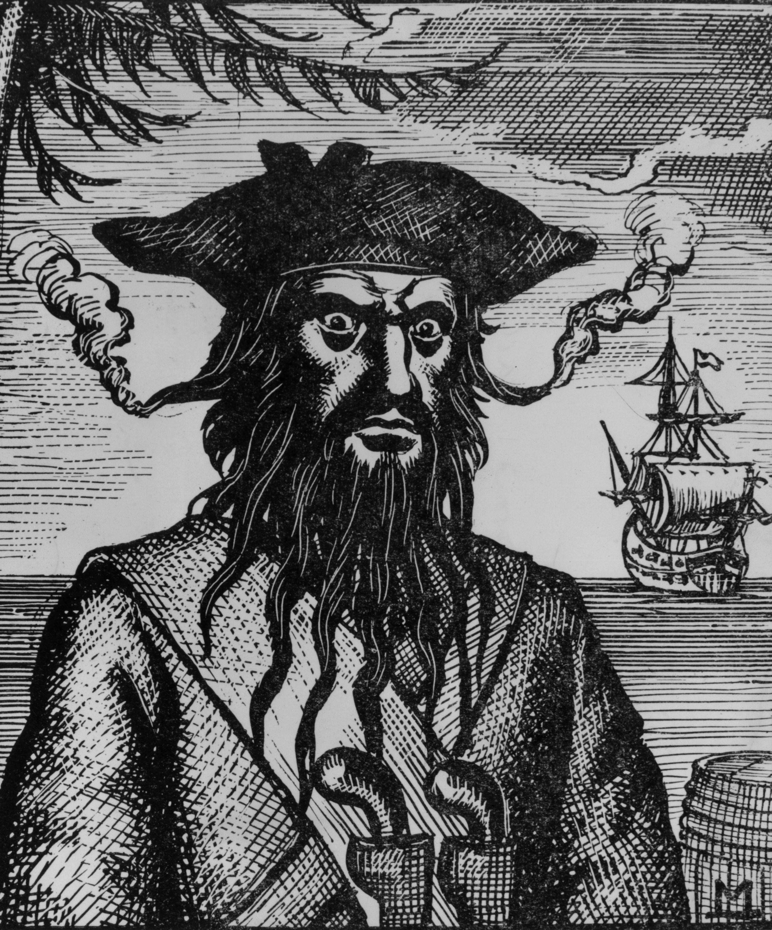 Edward Teach, AKA Blackbeard
